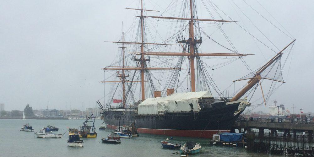 Portsmouth, Ingalaterrako historia arnasten den lekua