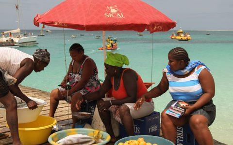 Ilha de Sal. Cabo Verde. Afrikako karibea.